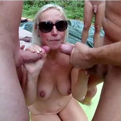 Nyilvános amatőr szex
