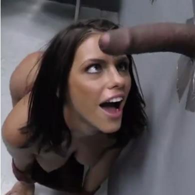 Gloryhole szex - Adriana Chechik